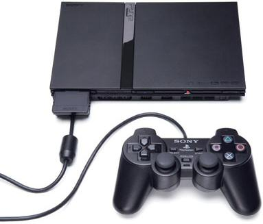 Приставка Sony PlayStation 2 Slim